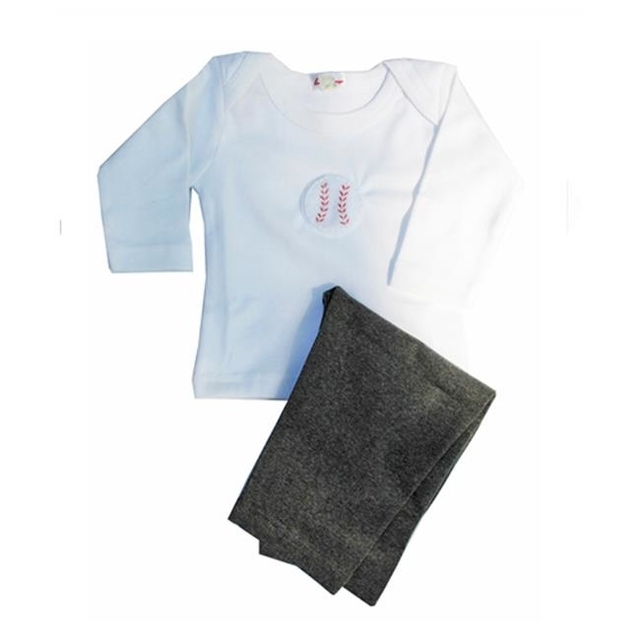 Loralin Design BOB12 Baseball Outfit 12-18 Months