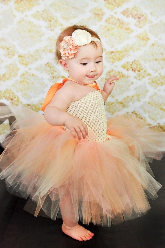 Gudra mazumtirdzniecības mazuļu tamborēta Tutu kleita ar meitenēm - Bērnu apģērbi