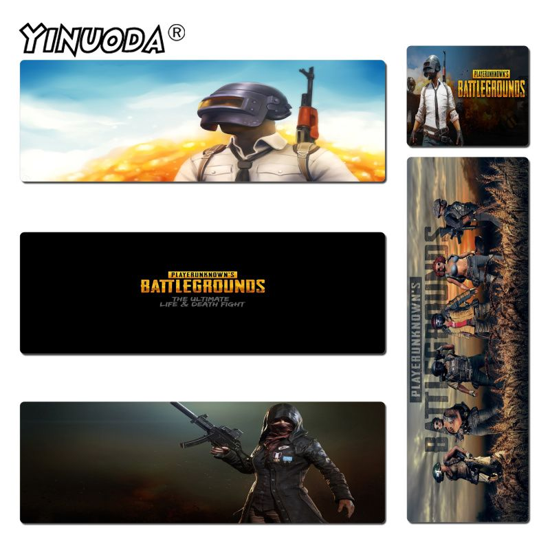 Yinuoda Player Unknown Battlegrounds Keyboard Gaming MousePads Size 30x60cm and 40x90cm Gaming Mousepads