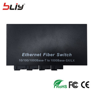 Image 4 - 4G2E switch gigabit 4 SC fiber 2 RJ45 4 fiber oem embedded single mode bi directional passive fiber optic media converter