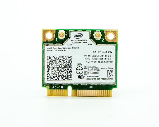 Para intel 7260hmw um dual band 300 m wireless-n 7260 wi-fi bluetooth 4.0 placa wlan