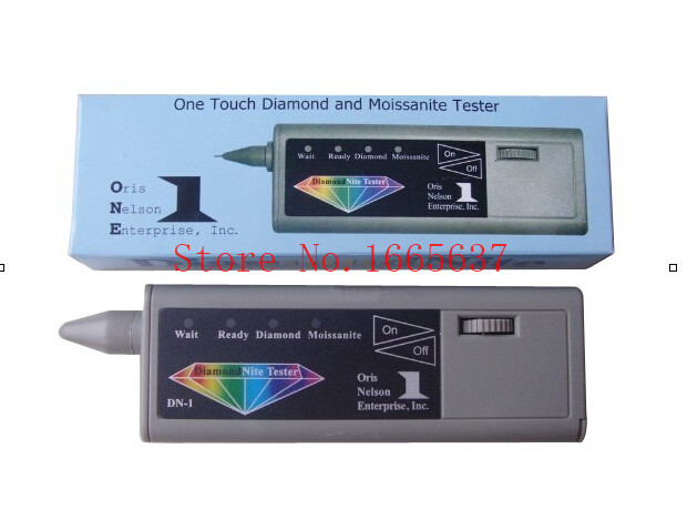 Livraison gratuite! nouveau MIZAR DN1Diamond Nite testeur de pierres précieuses électroniques, outils de bijoux détecteur de diamants pour testeur de diamants et Moissanite