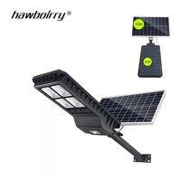 LED Solar Body Sensor Street Light Outdoor IP65 Waterproof Panel Remote Control 300W Solar Charge Street Light Garden Light