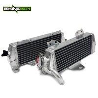 BIKINGBOY для Kawasaki KDX 200 1997 2006 KDX 220 2002 2003 2004 2005 MX алюминиевые сердечники E радиаторы охлаждения воды охладители