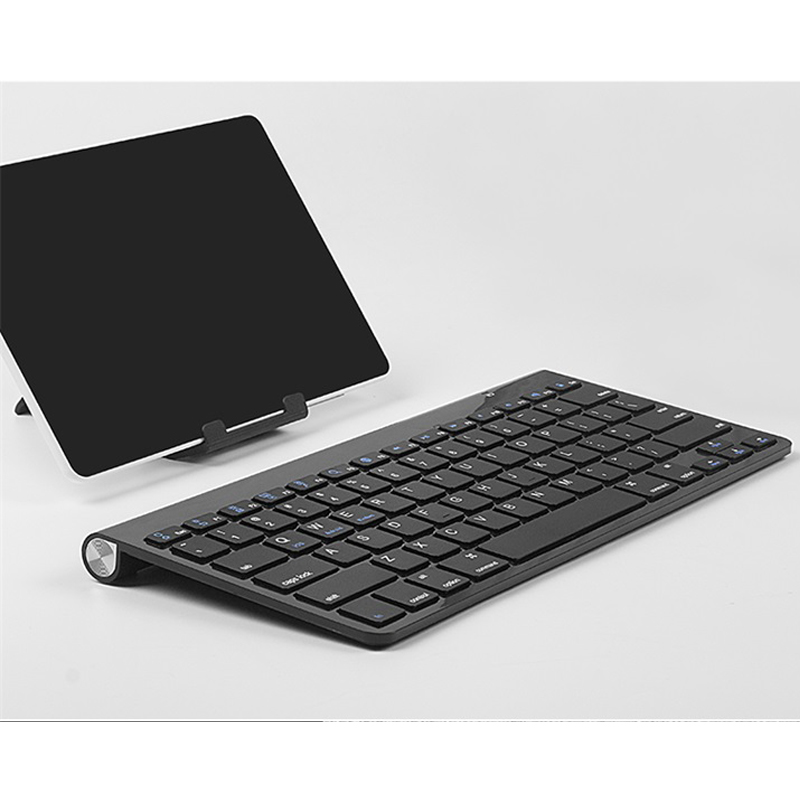 Ru clavier sans fil 78 touches 2.4G Ultra Slim claviers universel pour Windows Android Mac OS Win Home Office claviers 12 pouces