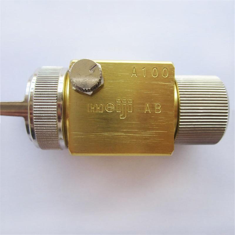 ingyenes szállítás, A100 Japan meiji A-100 automatikus permetező pisztoly, Magas atomizációs permetezőfesték permetező pisztoly fúvóka 0.8 / 1.0 / 1.3 / 2.0mm