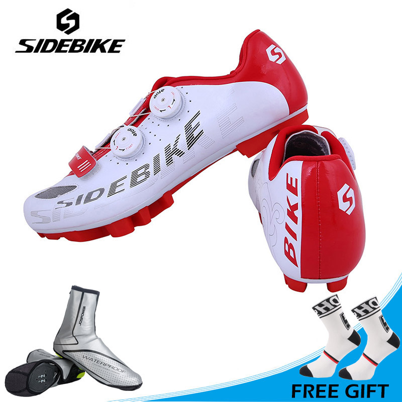 Sidebike Men Outdoor Cycling Shoes MTB Mountain Bike Shoes Self-locking Shoes Non-slip Bicycle Shoes Zapatillas Ciclismo sidebike mtb bike shoes carbon fiber cycling shoes men breathable non slip self locking road bike shoes bicycle sneaker shoes