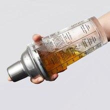 Freies Verschiffen 420 ml Mix Master Glas Rezept Cocktailshaker Bar Werkzeuge