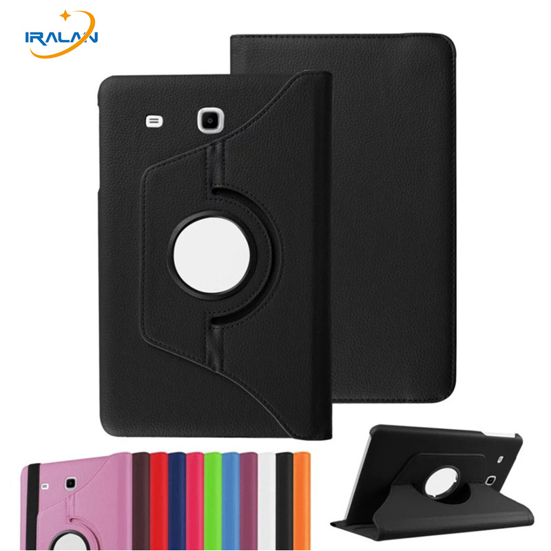 For Galaxy Tab A 7.0 Smart 360 Rotating Litchi PU Leather Case Cover For Samsung Galaxy Tab A 7.0 T280 T280N T285 Tablet 3 in 1 360 rotary flip open pu case w stand for 10 5 samsung galaxy tab s t805 white