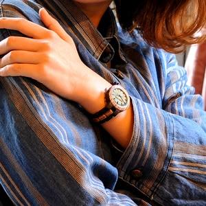 Image 3 - BOBO BIRD Couple Watch Zabra Wooden Quartz Watches for Men Women Fashion Luxury Christmas Gift Logo Customized Drop shipping