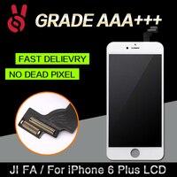 5ピース/ロット保証aaano死んだピクセル用iphone 6プラス5.5 lcdディスプレイタッチスクリーンデジタイザアセンブリの交換