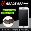 5 pçs/lote aaano dead pixel para iphone 6 plus 5.5 garantia lcd screen display toque digitador assembléia substituição frete grátis