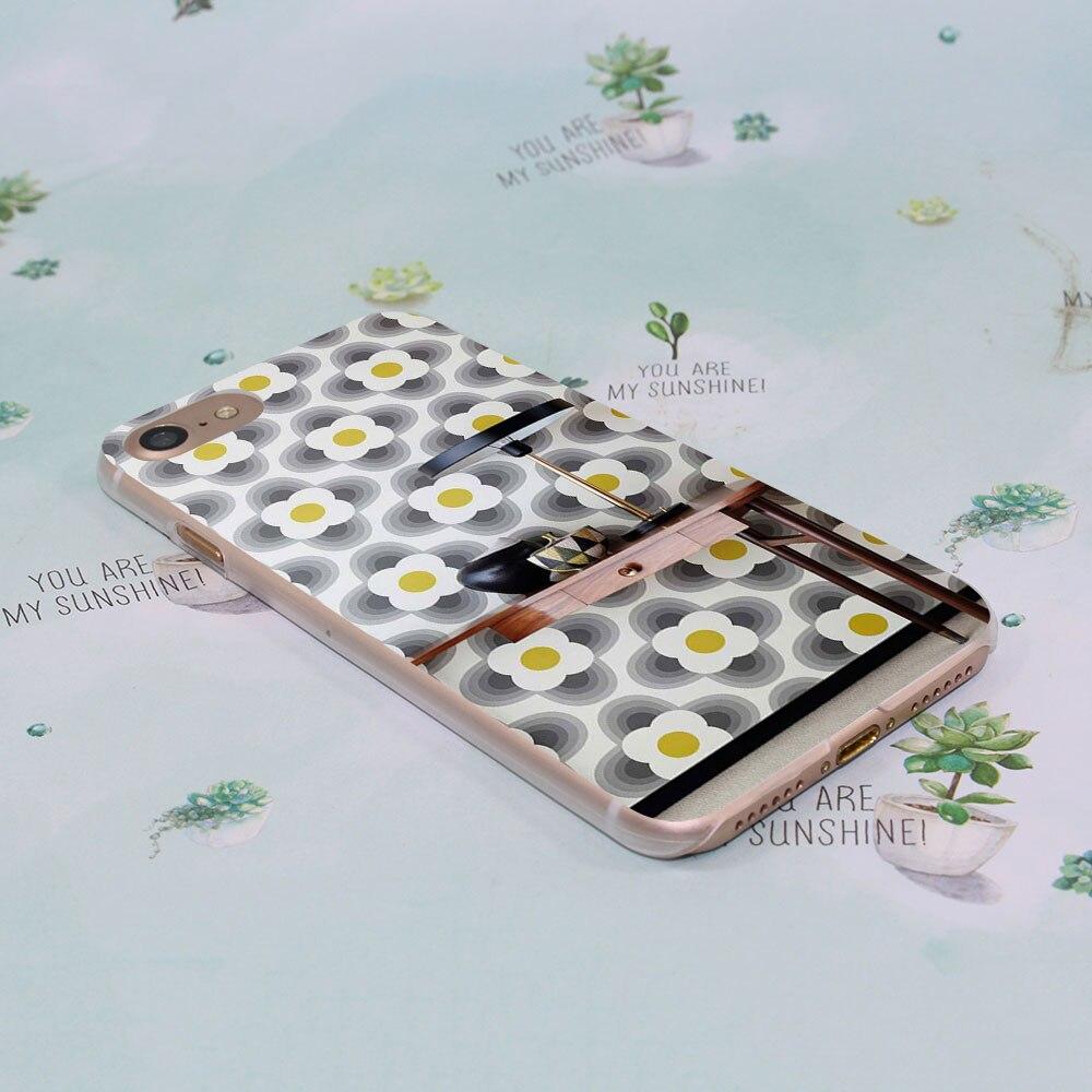 5s poster design -  Unique Orla Kiely Art Poster Design Transparent Clear Hard Case Cover For Apple Iphone 7 7plus