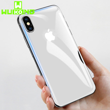3D High Tech Transparent Back+Front Screen Protector For iPhone 7P 8P iXs iXR Full Cover TPU Soft Hydrogel Film iPhoneXs Max