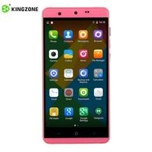 Оригинал kingzone n5 5.0 дюймов hd экран смартфона для android 5.1 MT6735 Quad Core 2 + 16 ГБ 4 Г 2600 мАч Двойной Камерой Мобильного телефон