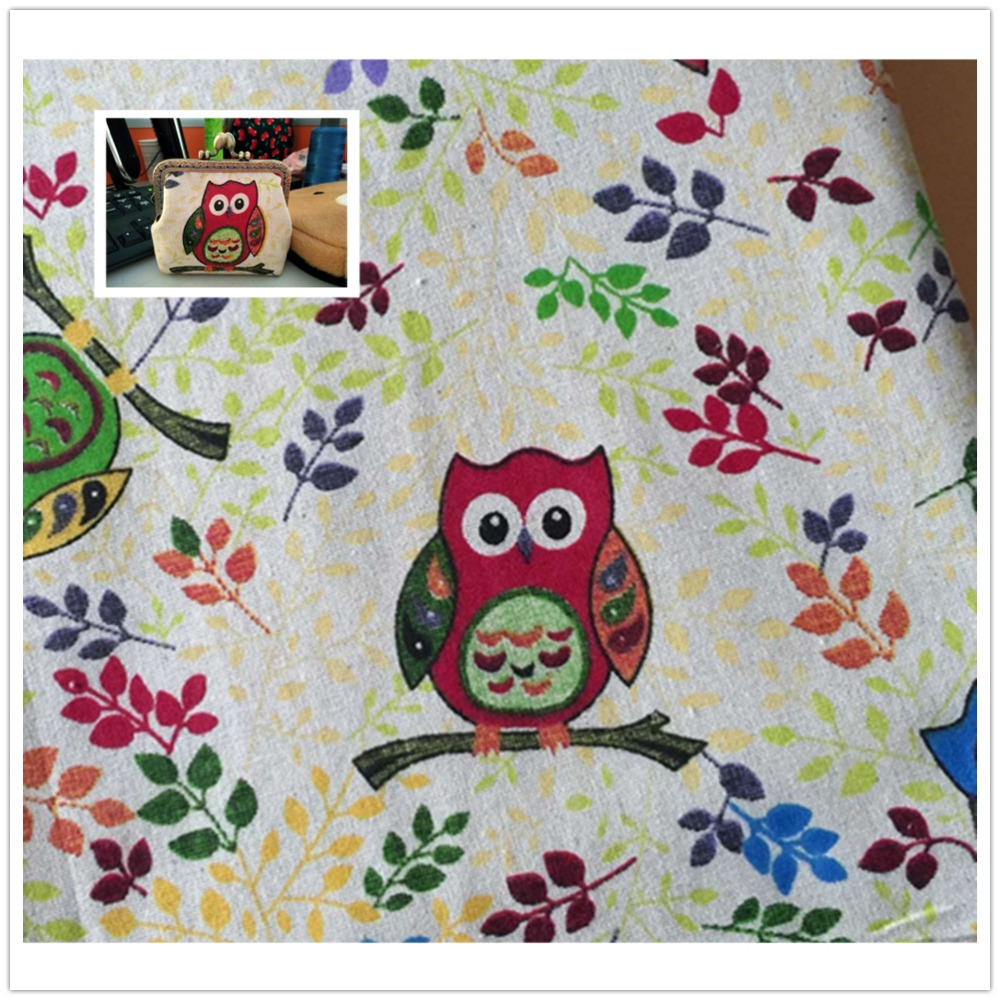 Patchwork Sofa Us 4 99 50x150cm Forest Owl Fabric Table Cloth Diy Handmade Sewing Pillow Cover Patchwork Sofa Curtain Tablecloth Kids Bag Doll In Fabric From Home