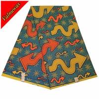 Holland 100%cotton Hollandais Dutch Wax African wax Ankara wax prints fabric blcok with 6yards for wedding dress QDHLD1411#