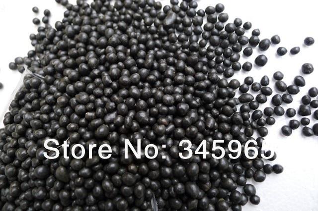 수족관 장식 블랙 세라믹 기저 모래 화산 토양 잔디 식물 500 gsm