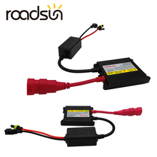Roadsun 55 W 35 W блок зажигания блок Xenon H1 H3 H4 H7 H11 9005 9006 балласт Conversion Kit для HID Автомобильная Лампа 12 V 2 шт