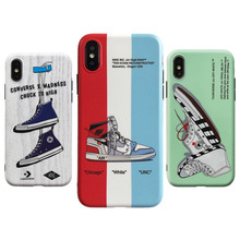 b27fdf25190ae4 New Air Jordan AJ1 Ow off Suprem Soft silicone cover case for iphone 6 6S 7