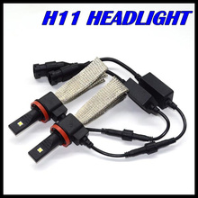New Design H11 H7 LED headlight cree XML chips fog lamp Auto led headlight H11 H7 for all vehicles H11 LED headlight 40W 5000LM
