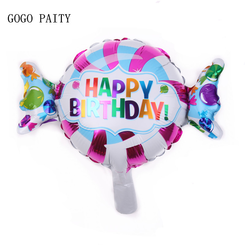 Festive & Party Supplies Xxpwj Free Shipping Round Birthday Aluminum Balloon Party Toy Party Decoration Balloon A-036 Ballons & Accessories