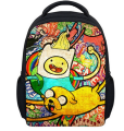13 Inch Cartoon Adventure Time Kids Backpack Kindergarten School Bag Children Printing Backpack Girls Boys Mochila