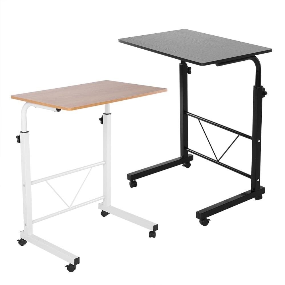 28.7 à 36.2 pouce Réglable Ordinateur Portable Table D'ordinateur Debout Bureau Mobile Canapé De Chevet Panier Plateau dans   de
