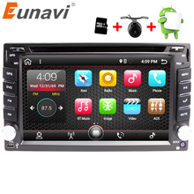 Eunavi Universal 2 Din Android 7.1 Car Dvd Player GPS+wifi+bluetooth+radio+quad Core+ddr3+Capacitive Touch Screen+car Pc+stereo