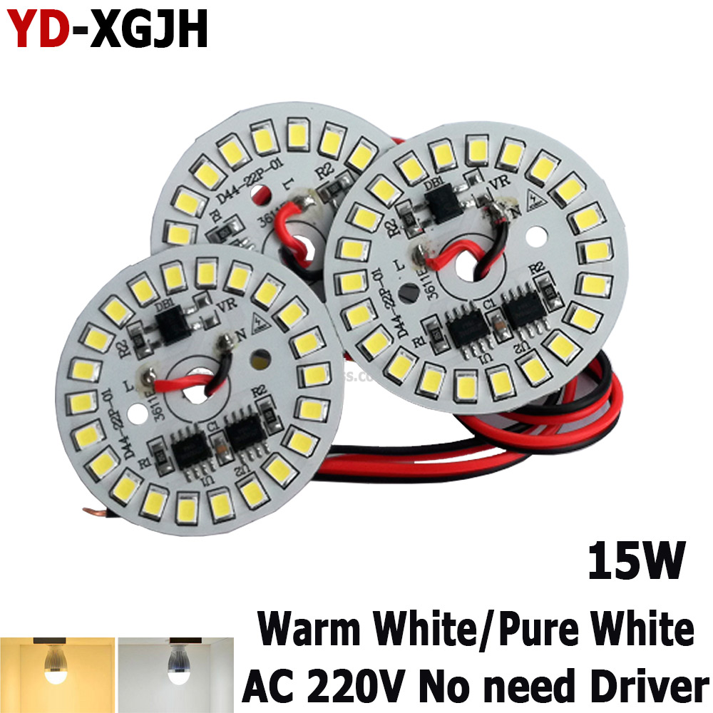 Hot Sell 15W 44mm AC 220v Led Smart IC SMD Led Pcb SMD2835 For 3w 5w 7w 9w 12w Integrated Ic Driver,  Led Light Source LED Bulb