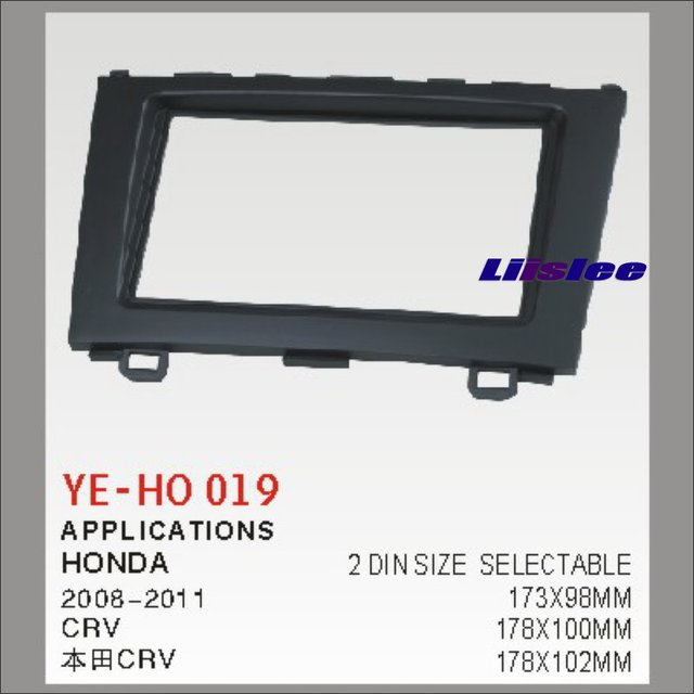 Liislee Car Radio Frame Audio Fascia Frame For Honda CRV CR V 2008 ...