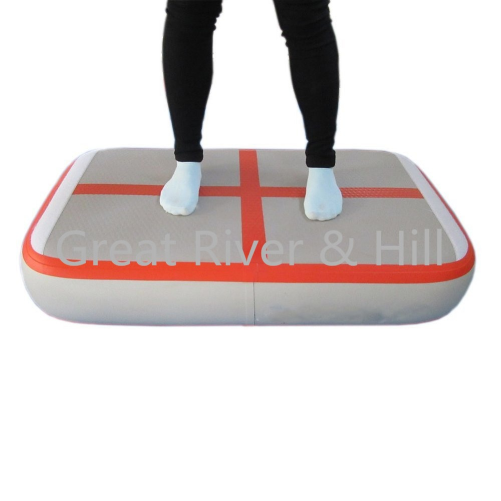 2017 New Popular Inflatable Air Track 1m x0.6m x10cm For Gymnastics with fedex shipping