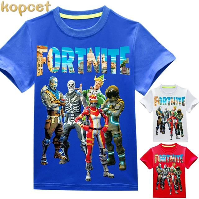 New 2018 children Ninja t shirts Popular Hero Print Kids Baby Boy Tops Short Sleeve T-Shirt Summer Girls Tees Fornit shirts 4