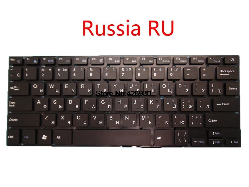 Laptop Keyboard For Chuwi For LapBook 14.1 Russia RU English US black without Frame new