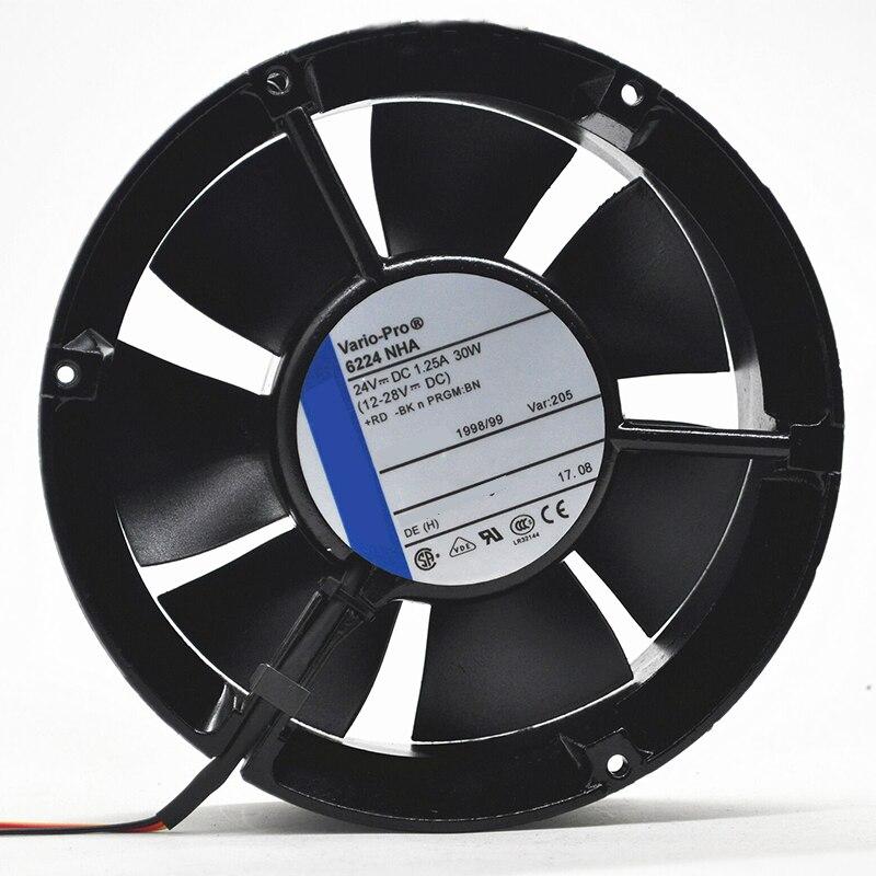 Для Ebmpapst 6224NHA 172*51 мм 24VDC 1.25A 30 Вт для печатная машина heidelberg Вентилятор охлаждения