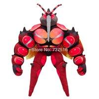 Новый аниме Животные подвижные совместных длинный рот большой комаров плюшевые мягкие куклы полупрозрачные крылья Buzzwole Massivoon мягкая игруш