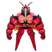 New Anime Animals Movable joint Long mouth Large Mosquito Plush Soft Doll Translucent wings Buzzwole Massivoon Stuffed Toy Gift