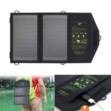 ALLPOWERS Solar Panels Charger 5V USB Outdoors Charger for iPhone 6 6s 7 8 10 X iPad Samsung LG Sony Nokia and More Cell Phones.