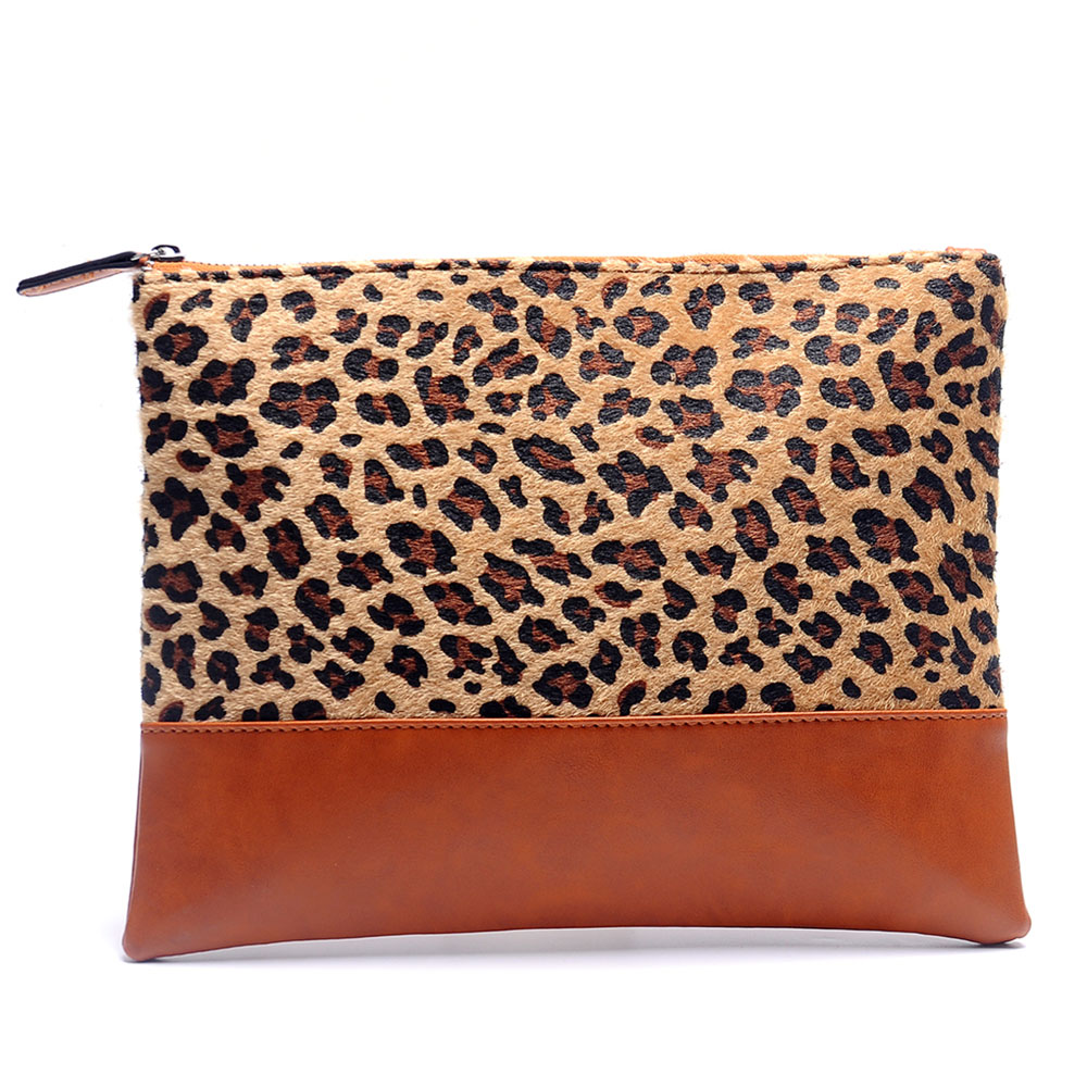 Luxury Women Cosmetic Bag Leopard Print Make Up Toiletry Travel Clutch Purse Portable Zipper Pouch Organzier Wedding Role Gifts