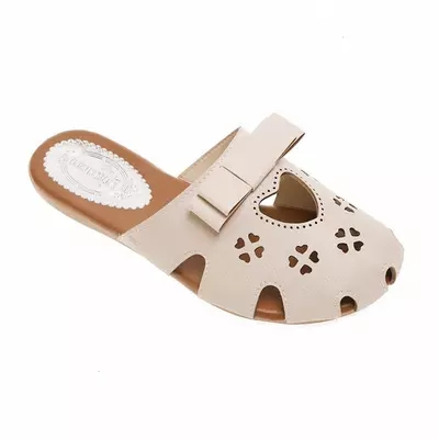 Sandals and slippers female 2018 models wild without heel wear baotou half trawl net red slippers 2
