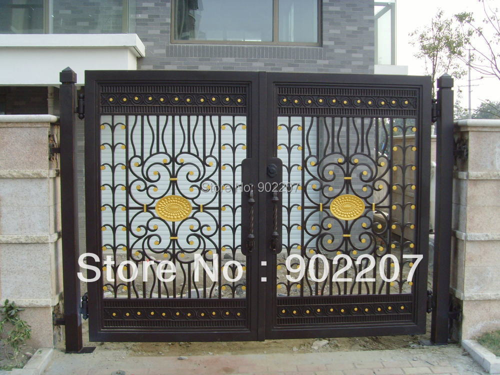 Wrought Iron Gate For Sale,antique Wrought Iron Gate,wrought Iron Garden  Gate