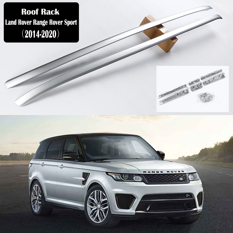 Dach Rack Für Land Rover Range Rover Sport 2014-2020 Racks Schienen Bar Gepäck Träger Bars top Racks Schiene boxen Aluminium legierung