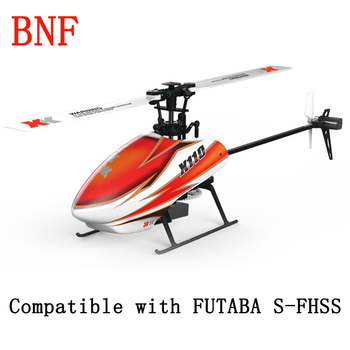 XK K110 Blast 6CH Brushless 3D6G System RC Helicopter Compatible with FUTABA S-FHSS BNF