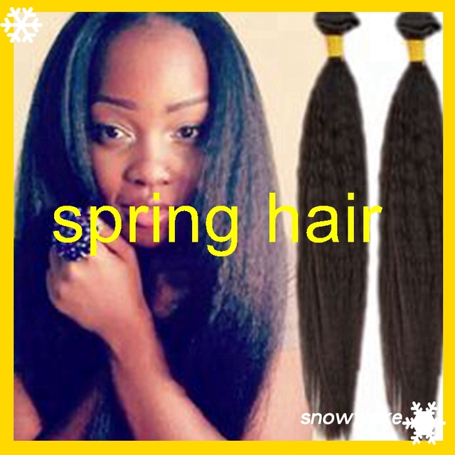 Yakikinky Straight 1pc Synthetic Hair Weft 22 Color1b Synthetic