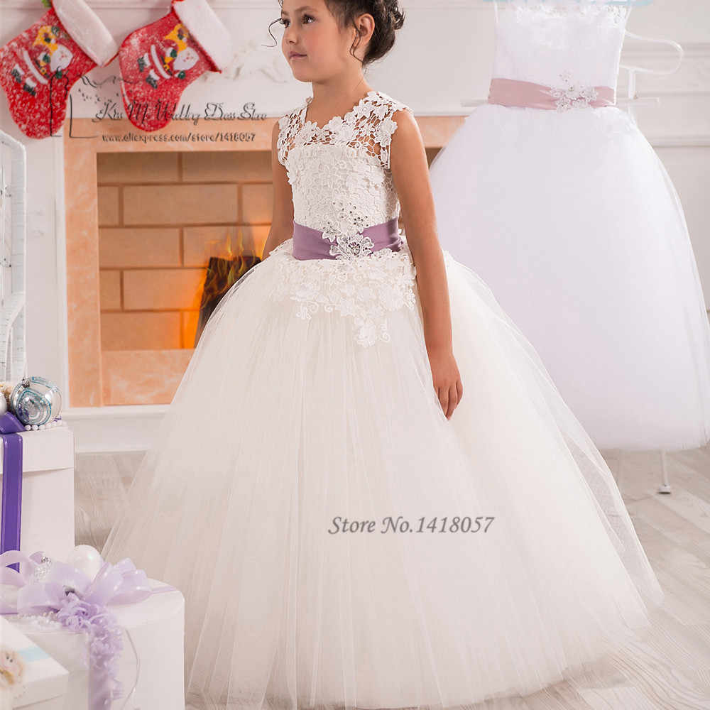 Detail Feedback Questions About Spring Pretty Flower Girls Dresses