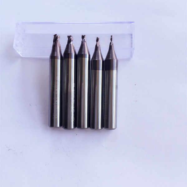 Wiertła kręte z węglików spiekanych klucz samochodowy. do cięcia czymś w 1.0mm, 1.5mm, 2.0mm, 2.5mm 3mm Frez czołowy dla ślusarza (5 części/partia)