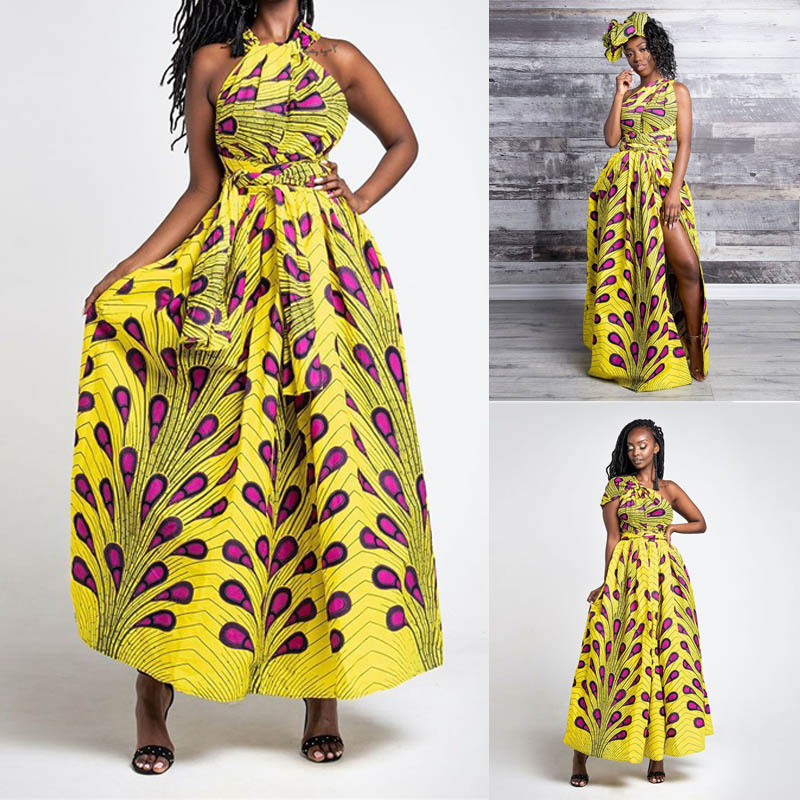Infinity Dashiki Dress Women Maxi Multiway Wrap Convertible Long Dresses Sexy Bandage Party Vestidos Lady Robe Summer Long Dress-in Dresses from Women's Clothing on AliExpress - 11.11_Double 11_Singles' Day 1