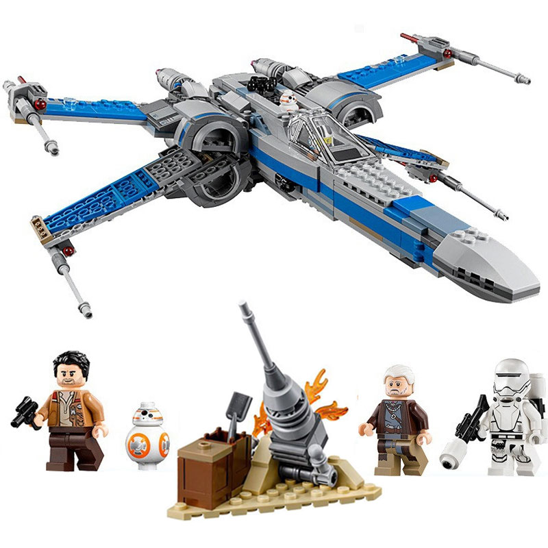 LEPIN 05029 Star Wars Rebel X-wing fighter KIDS TOY Building blocks bricks Compatible With lego 75149 Children Birthday Gifts lepin 05060 star series wars ucs naboo star type fighter aircraft model building blocks bricks compatible legoed 10026 toy gifts