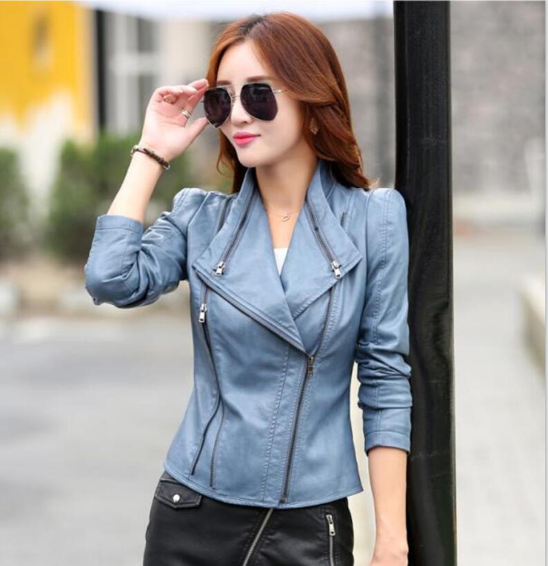 Brown Leather Jacket Womens Clothing   Customize Jacket