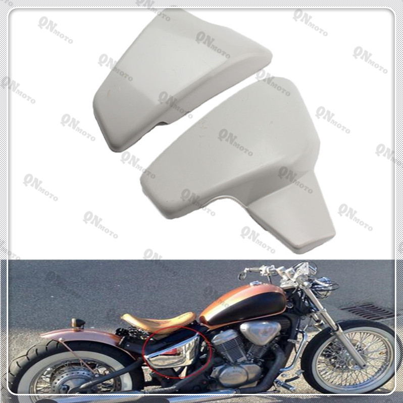 Motorcycle Unpainted Battery Side Cover For H o n d a VT 600 C CD (Shadow VLX Deluxe) 1999-2007 01 02 03 04 05 06